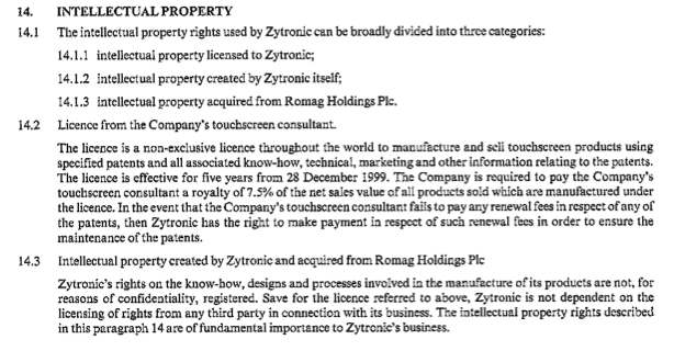 ZYT Admission document Note 14