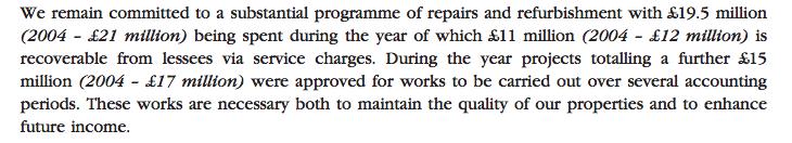 DJAN 2005 repairs