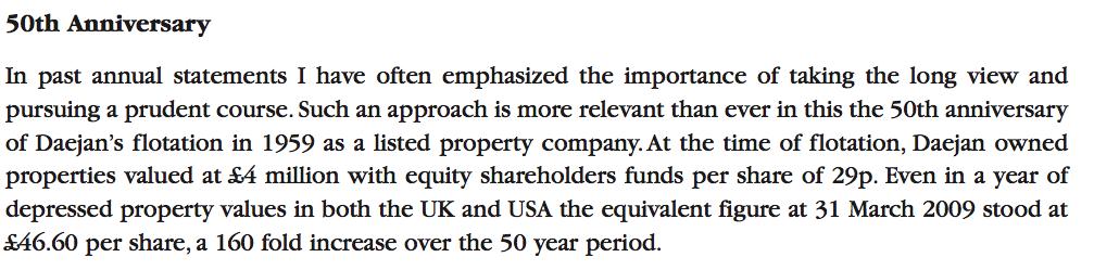 DJAN 50 year investment