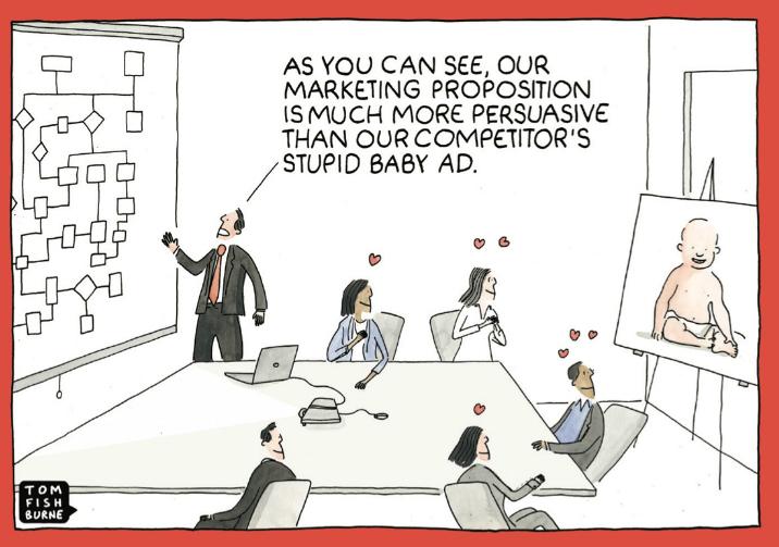 BJU stupid baby ad