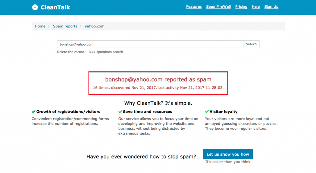 maynard paton cleantalk very best spambot protection plugin