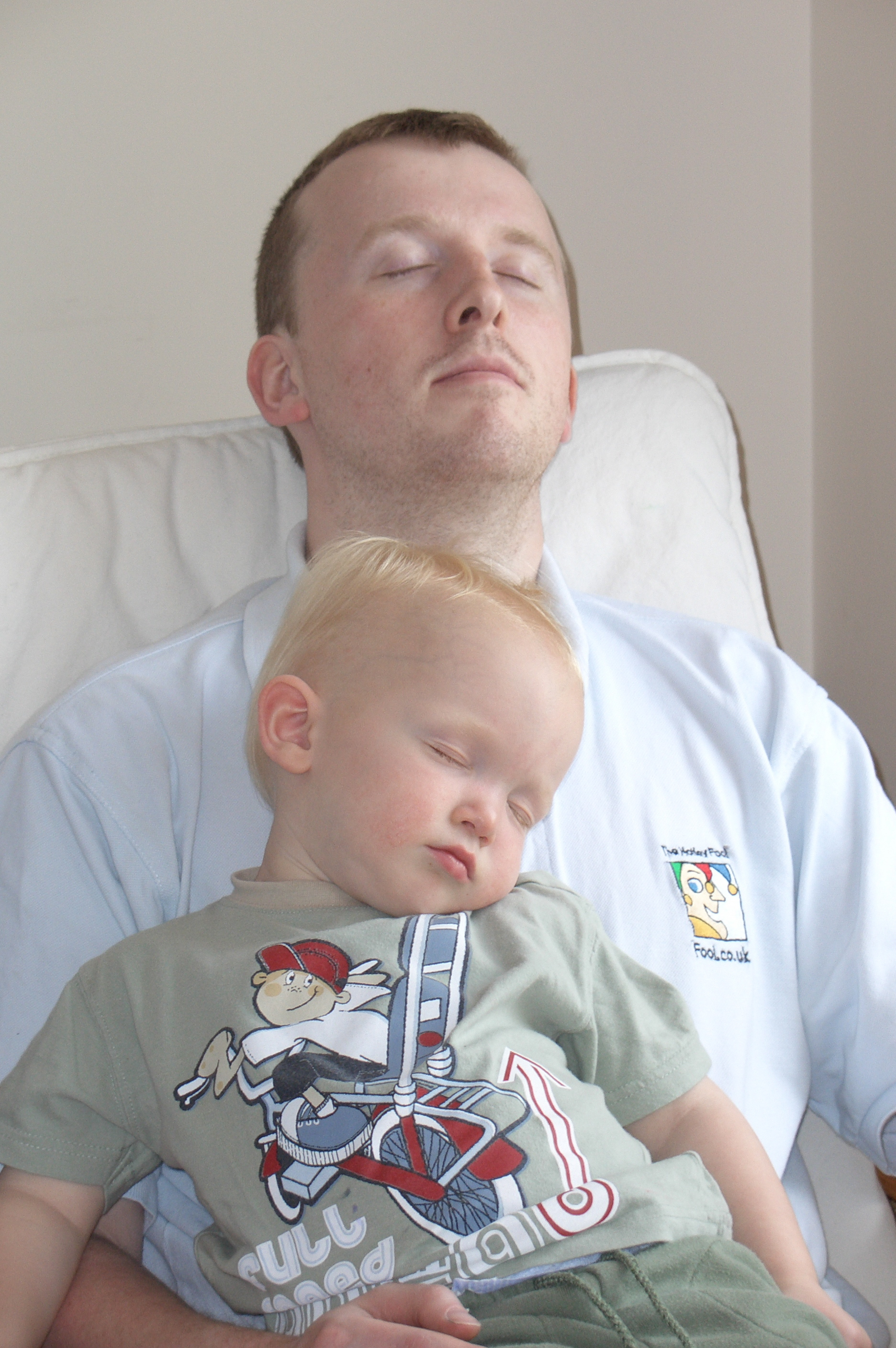 maynard paton fire retire early weekends spent asleep with two-year-old