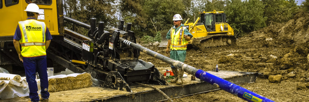 mcon mincon surface drill in action