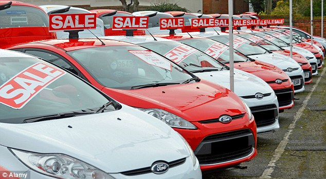 sus s&U fy 2019 results cars on a forecourt in a sale