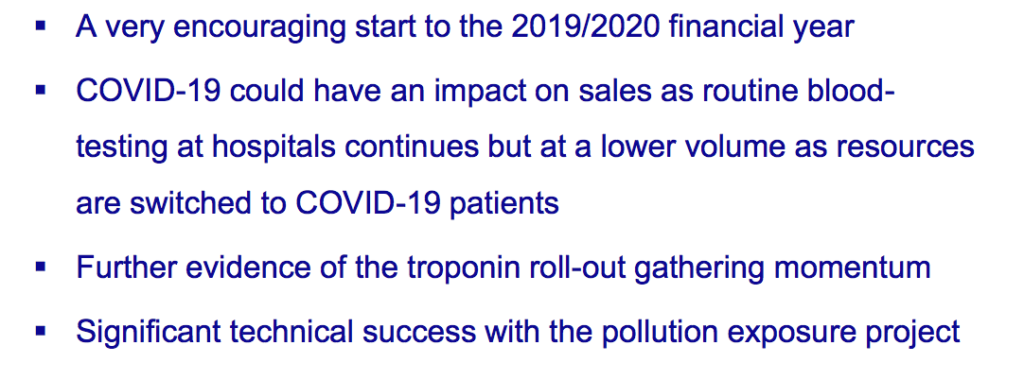 bvxp bioventix h1 2020 results outlook slide