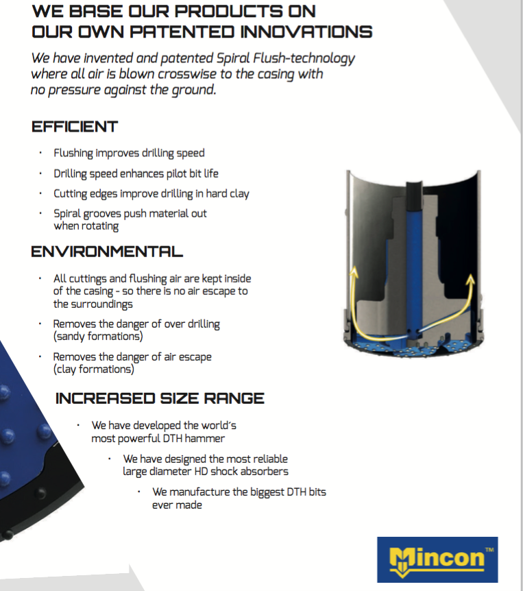 mcon mincon h1 2020 results geotech brochure