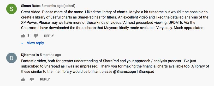 sharepad best stock screener versus stockopedia tutorial comments