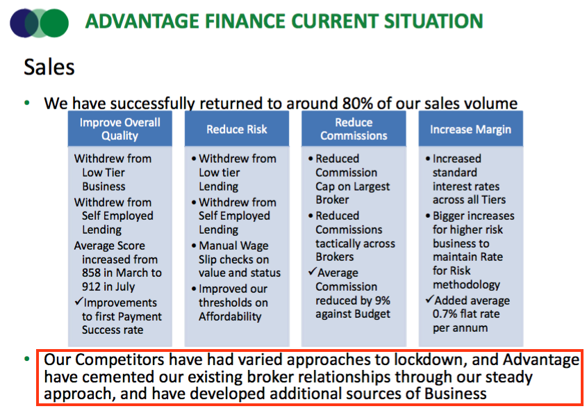 sus hy 2021 results advantage finance competitor