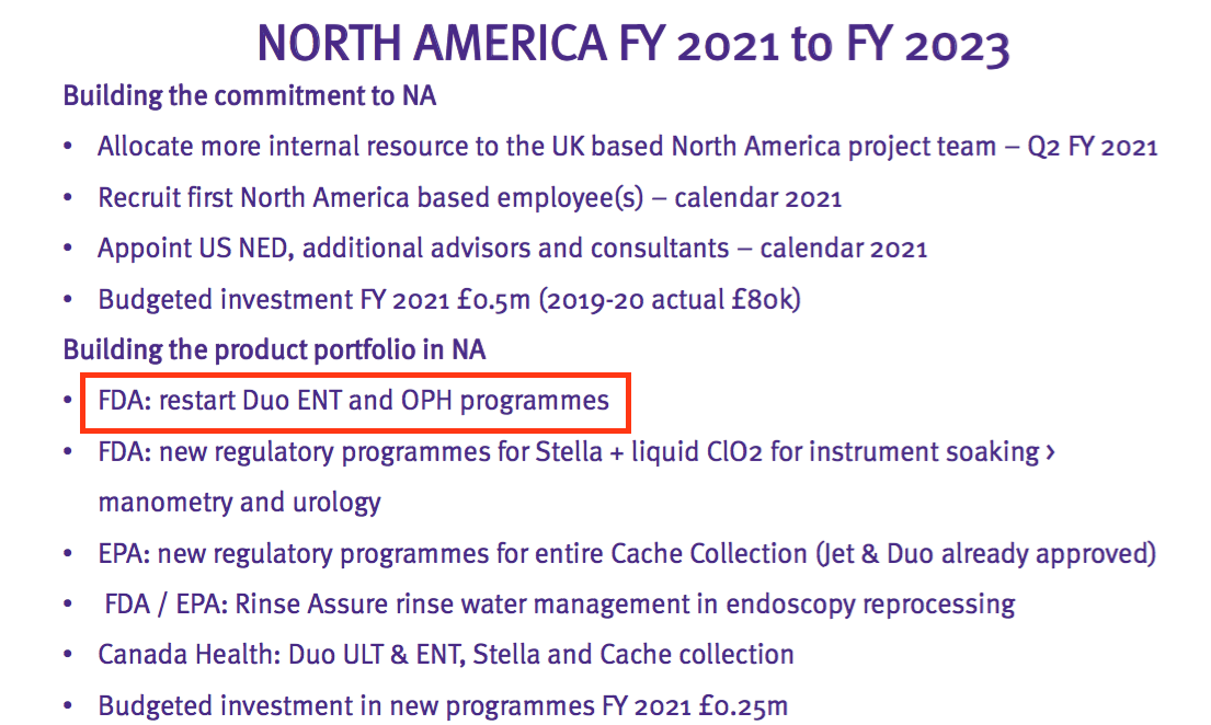 tstl tristel fy 2020 results north america activity